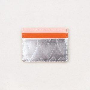 A lovely silver embossed credit card holder from British design company Caroline Gardner