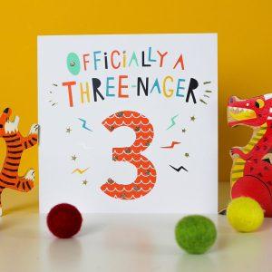 Children's Age Birthday Cards