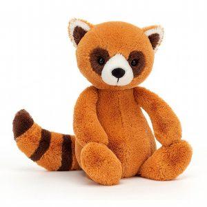 A sweet little red panda cuddly toy from Jellycat's Bashful range.