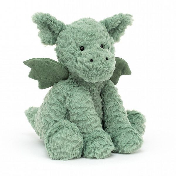 A sweet little Fuddlewuddle dragon from Jellycat