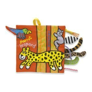 A wonderful soft book for little ones with tails sticking out the side of the book and animal stories inside. The child can then match the animal with the tail.